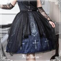 Lolita skirt L,S black