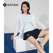 Sports jacket / jacket Rapido female 155/80A 160/84A 165/88A 170/92A CP0239J08 White lavender purple Spring 2020 Hood zipper Brand logo Sports & Leisure ventilation Sports life yes