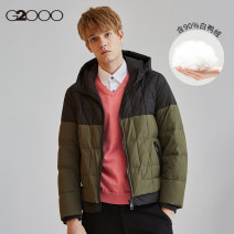 Down Jackets Green / 46 G2000 White duck down 44/160 46/165 48/170 50/175 52/180 54/185 Youth fashion Other leisure routine thickening 90% Wear out Detachable cap Wear out youth 100g (including) - 150g (excluding) Youthful vigor Closing sleeve Polyester 100% Spring of 2019