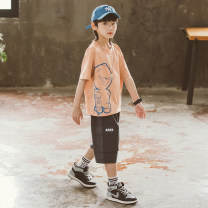 suit Babybody Orange purple 120cm 130cm 140cm 150cm 160cm 170cm male summer Korean version Short sleeve + pants 2 pieces routine There are models in the real shooting Socket nothing other children Giving presents at school Class B Other 100% Summer 2021 Chinese Mainland Zhejiang Province Huzhou City