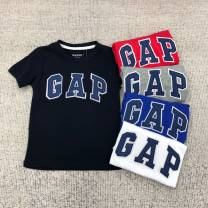 T-shirt Other / other male summer Short sleeve leisure time nothing cotton other Cotton 100% Class A Sweat absorption 3 years old Chinese Mainland