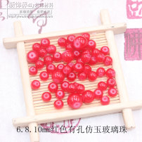 Other DIY accessories Other accessories other 0.01-0.99 yuan One is red, one is 6mm brand new Fresh out of the oven Spring and summer 2017
