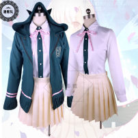 Cosplay women's wear Other women's wear Customized Over 14 years old Full set of clothes (Black Knee Socks), full set of clothes + wig (plane clip and socks, wig hair net (one size), flat heel shoes (35-42), brown shoes (35-39), Black Bow Shoes (35-39) Animation, film, games L,M,S,XL Manying Club