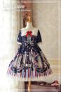 Dress Summer of 2019 Dark blue, light sky blue, light pink S,M,L,XL
