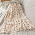 skirt Spring 2021 Average size Mid length dress High waist Ruffle Skirt Decor A27144 30% and below other Other / other