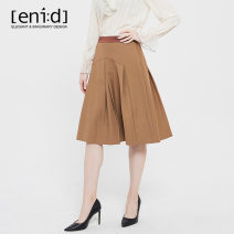 skirt Autumn 2020 S M Black Camel longuette commute Natural waist A-line skirt Solid color 25-29 years old 71% (inclusive) - 80% (inclusive) eni:d polyester fiber Zipper stitching lady Polyester 78.9% viscose 21.1% Same model in shopping mall (sold online and offline)