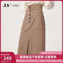 skirt Autumn 2020 XS S M L XL 704 camel coffee 1 710 coffee 704 camel coffee 704 camel coffee a Mid length dress commute High waist High waist skirt lattice Type H 25-29 years old 120329C6949704~ 51% (inclusive) - 70% (inclusive) Lily / Lily polyester fiber Button Ol style