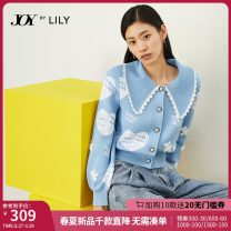 Wool knitwear Winter 2020 XS S M L XL Long sleeves singleton  Socket nylon More than 95% Regular routine commute Self cultivation other bishop sleeve Solid color Socket Ol style 25-29 years old Lily / Lily Resin fixation Same model in shopping mall (sold online and offline)