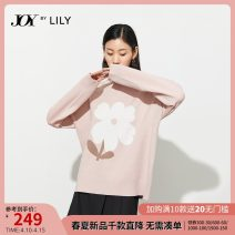 Wool knitwear Winter 2020 XS S M L XL 120 light pink 120 light pink a Long sleeves singleton  Socket nylon More than 95% Regular routine commute Self cultivation other bishop sleeve Solid color Socket Ol style 121149BK925120 25-29 years old Lily / Lily Resin fixation