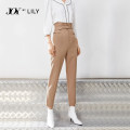 Casual pants 717 Khaki 510 black 717 Khaki a 717 Khaki AA S M L Spring 2021 Ninth pants Pencil pants High waist commute routine 25-29 years old 81% (inclusive) - 90% (inclusive) 121149C5914 Lily / Lily other Ol style zipper Polyester fiber 89.3% polyurethane elastic fiber (spandex) 10.7%