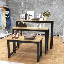 Boutique display cabinet Disassembly Jiangsu Province manmade board Single table length 80 deep 40 high 50 color remarks, single table length 100 deep 40 high 70 color remarks, single table length 120 deep 40 high 90 color remarks, large, medium and small combination color remarks