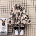 suit Hatley Castle  Black, green 90cm,100cm,110cm,120cm,130cm,140cm male spring and autumn leisure time Long sleeve + pants 2 pieces routine No model Socket nothing camouflage cotton children Expression of love Chinese Mainland Zhejiang Province Huzhou City
