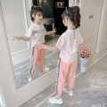 suit Other / other White, pink 105cm,110cm,120cm,130cm,140cm,150cm,160cm,170S,180M female summer Korean version Short sleeve + pants 2 pieces Thin money There are models in the real shooting Socket nothing other other children Learning reward Class B Chinese Mainland