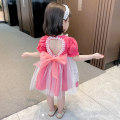 Dress Rose, pink, black, black (VEST) female Other / other 80, 90, 100, 110, 120, 130 Other 100% summer lady Short sleeve Broken flowers other Fluffy skirt Class B Three years old, 18 months old, 5 years old, 12 months old, 6 years old, 2 years old, 4 years old Chinese Mainland Zhejiang Province