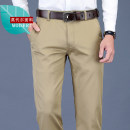 Casual pants Teng Pai Fashion City 29 30 31 32 33 34 35 36 37 38 40 42 thin trousers Other leisure Straight cylinder Micro bomb TP.1810 summer youth Business Casual 2021 middle-waisted Straight cylinder Polyester 45% cotton 26% modal 26% polyurethane elastic 3% Pocket decoration No iron treatment
