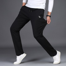 Casual pants Teng Pai other 1871 black spring and autumn medium thick 1871 royal blue spring and autumn medium thick 1869 gray thin 1869 black thin M L XL 2XL 3XL 4XL routine trousers Other leisure Straight cylinder get shot TP1871 autumn Basic public 2020 middle-waisted Straight cylinder washing