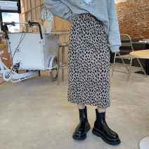 Sports suit Leopard print skirt 10220 Ezrin male S,M,L Long sleeves stand collar
