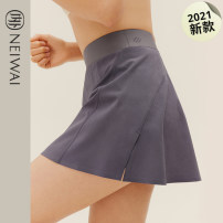 Sports skirt N211WA4201 Cloud white, purple gray Nei Wai / inside and outside female S M L XL Spring 2021 other