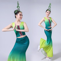 National costume / stage costume Summer of 2018 Picture color Dancer image 18-25 years old Other 100% Pure e-commerce (online only)