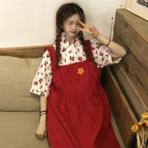 Fashion suit Summer of 2019 M,L,XL 18-25 years old Other / other 31% (inclusive) - 50% (inclusive) cotton