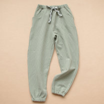 trousers Other / other male 105cm,110cm,120cm,130cm,140cm,150cm,160cm Grey, dark blue, grey green (vertical stripe) spring and autumn trousers leisure time No model Casual pants Leather belt middle-waisted cotton Don't open the crotch Cotton 95% polyurethane elastic fiber (spandex) 5%