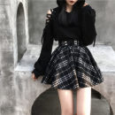 Fashion suit Winter of 2019 S. M, l, XL, collection plus purchase priority delivery Top, skirt, red skirt 18-25 years old Other / other cotton