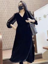 Clothing packaging black
