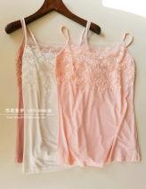 Vest sling Winter of 2019 Milky white, black, soft pink, dark nude, tea green 160/84A,165/88A