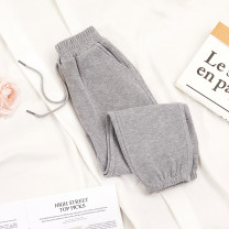 trousers Other / other neutral 110 (height 95-105cm), 120 (height 105-115cm), 130 (height 115-125cm), 140 (height 125-135cm), 150 (height 135-145cm), 160 (height 145-155cm) Versatile black, sport grey, misty purple, dark grey, beige spring and autumn trousers leisure time No model Knickerbockers