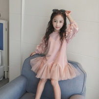 Dress Pink, pink thickened female cicikiki 100cm,110cm,120cm,130cm,140cm,150cm,160cm Cotton 84.2% polyester 15.8% spring and autumn Korean version other other 1930LY040 Class B 13, 12, 11, 10, 9, 8, 7, 6, 5, 4, 3, 2 Chinese Mainland Guangdong Province Shenzhen City