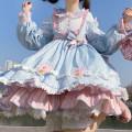 Dress Winter of 2019 S,M,L Mid length dress singleton  Long sleeves Sweet Decor Others Lolita