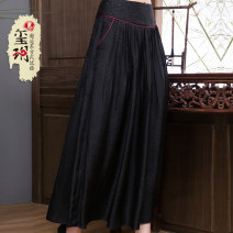 skirt Spring of 2019 S M L XL XXL XXXL Picture color Short skirt grace Natural waist A-line skirt 35-39 years old 51% (inclusive) - 70% (inclusive) Xiyue silk Pure e-commerce (online only)