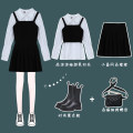 Fashion suit Spring 2021 S. M, average size Suspenders, shirts, skirts 18-25 years old Other / other 30% and below