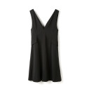 Dress Spring 2021 Black. Black has a belt S,L,M,2XL,XS,3XL,XL,4XL Middle-skirt singleton  Sleeveless Sweet High waist Socket straps 30-34 years old 9 Charms 9m