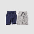 trousers middle-waisted Rubber belt male Other / other 5, 6, 7, 8, 9, 10, 11, 12, 13, 14, 4 Capris summer Casual pants No model in real shooting Don't open the crotch Pure cotton (100% content) college Cotton 100% K1542 1 Grey, Navy 110cm,120cm,130cm,140cm,150cm,160cm