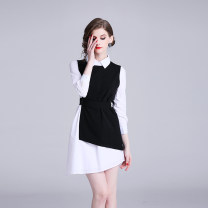 Fashion suit Spring of 2019 S,M,L,XL Black and white