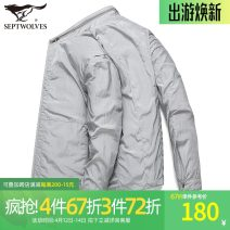 Jacket Septwolves Fashion City Dark blue, green gray, dark green, bean green, jujube red, this white 165/84A/M,170/88A/L,175/92A/XL,180/96A/XXL,185/100A/XXXL,190/104A/XXXXL routine standard Other leisure spring 111H10101201 Polyamide fiber (nylon) 100% Long sleeves Wear out stand collar tide routine