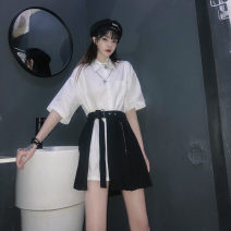 Other suits Summer 2020 Black skirt, white shirt Average size 18-25 years old