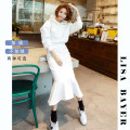 Casual suit Spring 2021 White, black, pink, spring and autumn white, spring and autumn black, spring and autumn pink M,L,XL 25-35 years old T203 Zhenchu 51% (inclusive) - 70% (inclusive) cotton