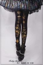 Socks / base socks / silk socks / leg socks female Other / other Full booking L (more than 155) black 1 pair Panties velvet