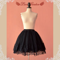skirt Summer 2014 Available in color s ml XL for size customization White lace other colors black lace white black Middle-skirt Versatile Cake skirt Solid color 10K00002 More than 95% Lace Lace Garden polyester fiber Pleated wave lace