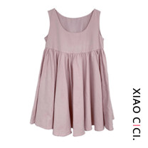 Dress Spring 2021 Black, peach powder S,M,L longuette singleton  Long sleeves Sweet Crew neck High waist Solid color Socket A-line skirt routine Others 18-24 years old Type A Lace 30% and below polyester fiber