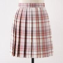 skirt Summer 2020 S,M,L,XL Fengyanxu 43cm skirt, fengyanxu 48CM skirt Short skirt Sweet High waist Pleated skirt lattice 18-24 years old G-035 71% (inclusive) - 80% (inclusive) cotton solar system