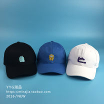 Hat cotton Adjustable Baseball cap Spring, summer, autumn, winter currency street Youth, lovers, youth dome Short eaves 15-19, 20-24, 25-29 Embroidery Shopping Hemming