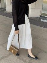 skirt Spring 2021 Average size Color 1 Black , Color 2 white L20210413 - 0012