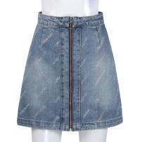 skirt Spring 2021 155,160,165,170 Mid length dress Versatile High waist other 51% (inclusive) - 70% (inclusive)