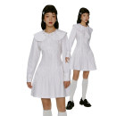 Dress Spring 2021 White - off the shelf S, M Short skirt singleton  Long sleeves Sweet Lotus leaf collar High waist Solid color zipper A-line skirt routine Others 18-24 years old Type A More than 95% other other