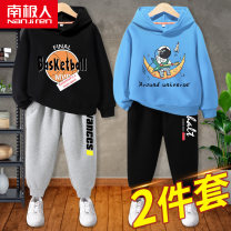 suit NGGGN 110cm 120cm 130cm 140cm 150cm 160cm 165cm male spring and autumn motion Long sleeve + pants 2 pieces routine There are models in the real shooting Socket No detachable cap Cartoon animation cotton friend birthday Class B Cotton 83% polyester 17% Spring 2021 Chinese Mainland Hubei province
