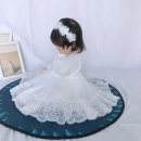 Children's dress female Other / other Evening dress Class B other 3 months, 6 months, 12 months, 9 months, 18 months, 2 years old