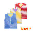 Vest neutral Stripes - mix of men and women, stripes - only men's color, stripes - only women's color, solid cartoon - mix of men and women, solid cartoon - only men's color, solid cartoon - only women's color Other / other spring and autumn thickening No model Buckle leisure time cotton stripe
